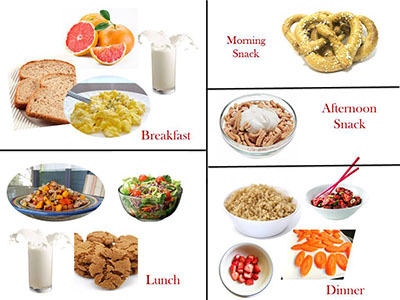 What does 1200 calories look like