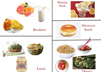 1200 Calorie Diabetic Diet Plan – Friday