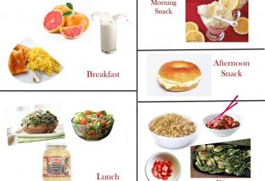 1200 Calorie Diabetic Diet Plan – Friday