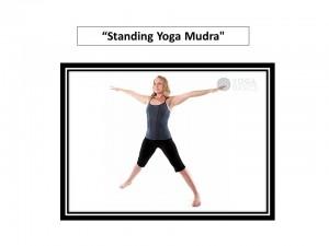 Standing Yoga Mudra