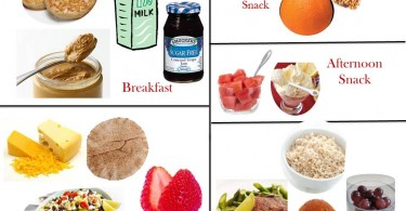 1800 Calorie Diabetic Diet Plan – Saturday