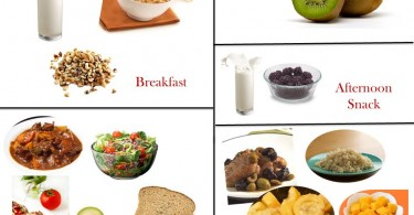 1400 Calorie Diabetic Meal Plan - Thursday