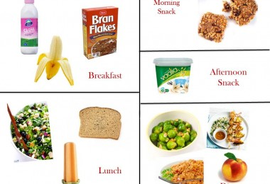 1200 Calorie Diabetic Diet Plan - Tuesday