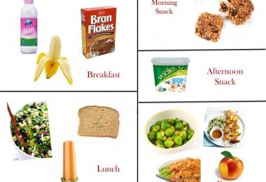 1200 Calorie Diabetic Diet Plan - Tuesday