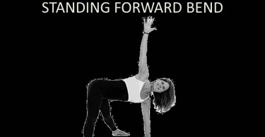 Revolved Wide-Legged Standing Forward Bend