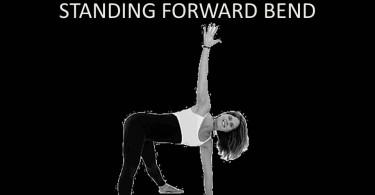 Revolved Wide-Legged Standing Forward Bend