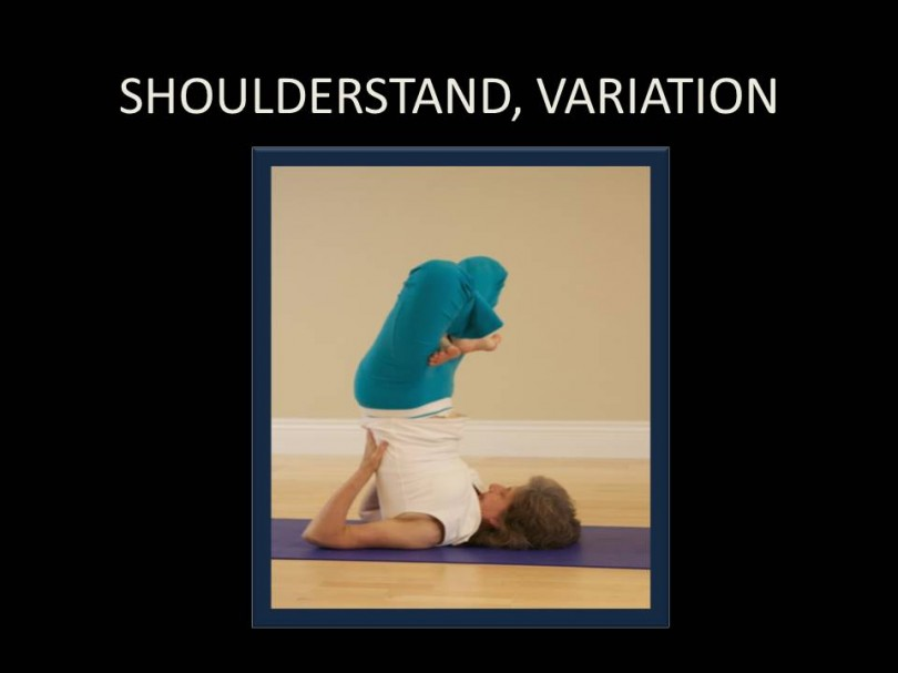 Shoulderstand, Variation