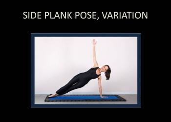 Side Plank Pose, Variation