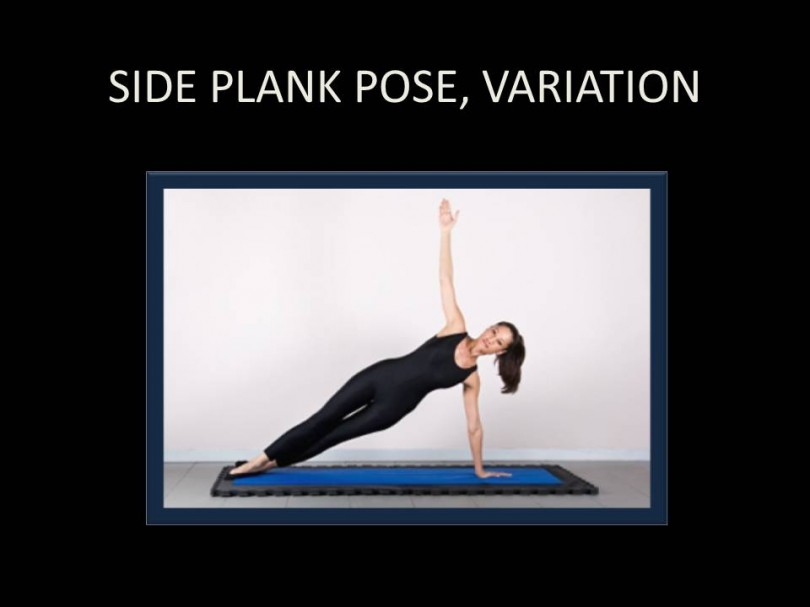 Side Plank Pose, Variation