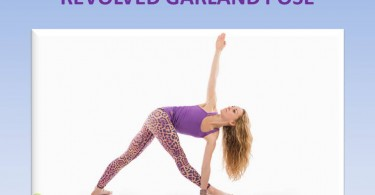 Revolved Garland Pose