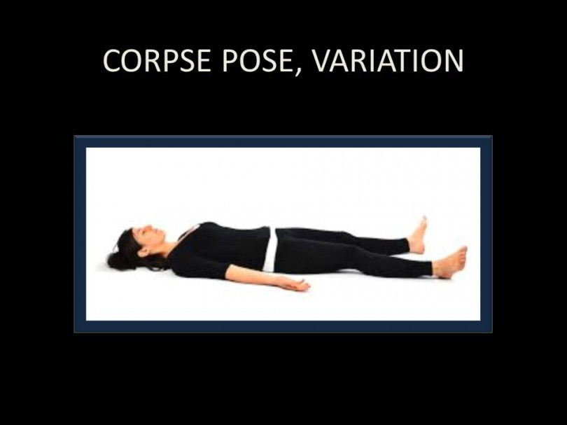 Corpse Pose Variation