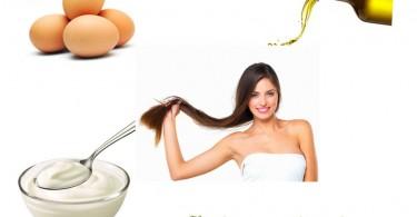 Eggs , Silky Hair & Hair Growth