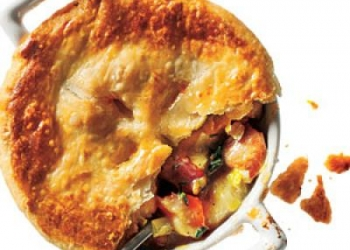 Chicken, Potato & Leek Pie