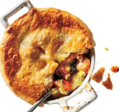 Chicken, Potato & Leek Pie