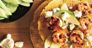 Shrimp Tacos With Green Apple Salsa