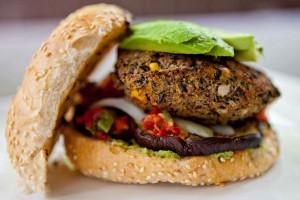 Grilled Black Bean Burger