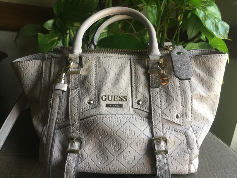 Guess Rikki East West Status Satchel