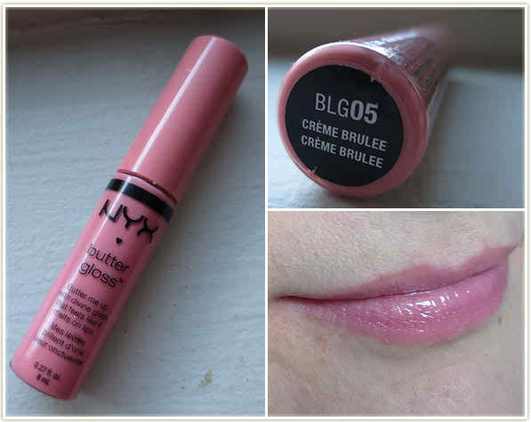 NYX Butter Gloss Creme Brulee
