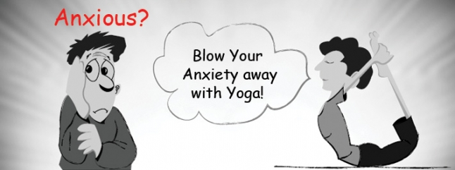 Your Anxiety With Yoga