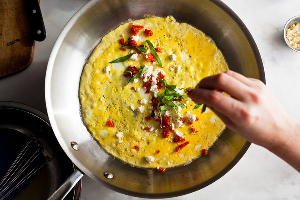 Add A Tad Bit Of Goat Cheese In Your Omelet And Enjoy A ...