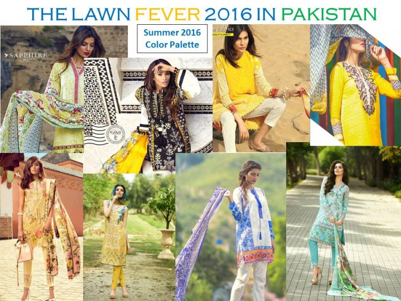PIC 1 - WHAT'S IN STYLE FOR SUMMER 2016 IN PAKISTAN
