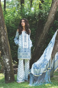 Shehla Chatoor Luxury Lawn 2016 by Shariq Textiles (1)