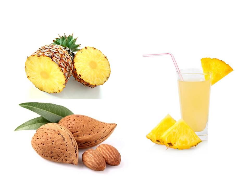 Almond-Pineapple Smoothie