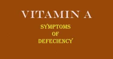 Vitamin A Defeciency