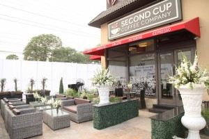 Decor at Second Cup Gulberg