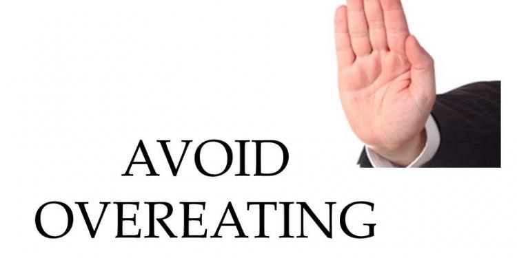 Avoid Overeating