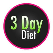 Three day diet