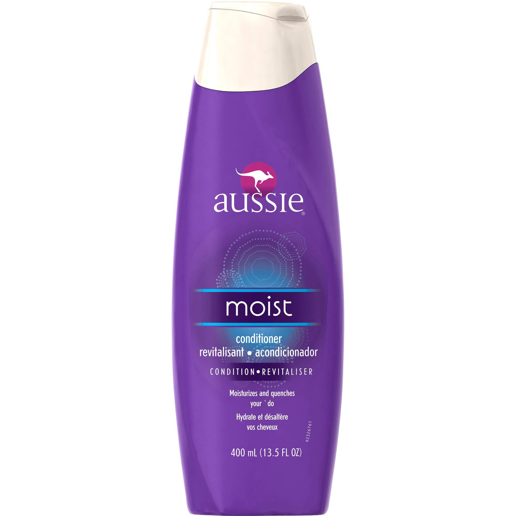 Aussie Mega Moist Conditioner Hair Products Natural