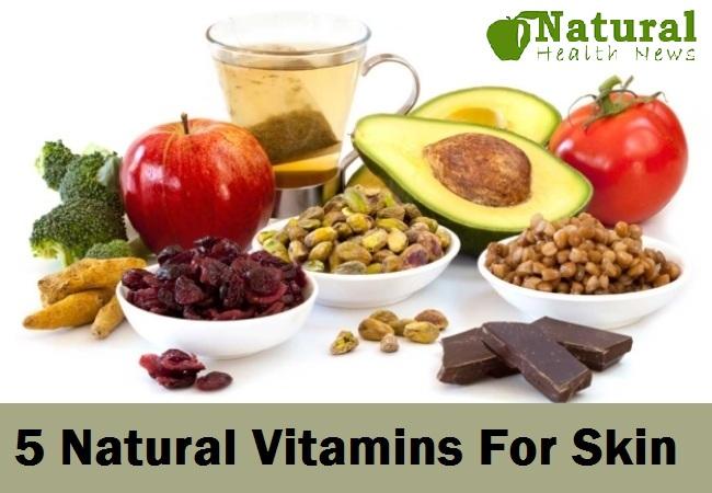 5 Natural Vitamins For Skin