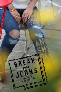 Pepe Jeans Pakistan - Break Your Jeans - Paint them, Craft them, Rip them! (2)