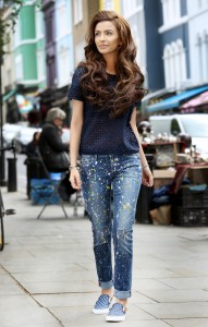 Pepe Jeans Pakistan - Break Your Jeans campaign starring Faryal Makhdoom - Look 1 (1)