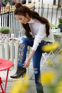 Pepe Jeans Pakistan - Break Your Jeans campaign starring Faryal Makhdoom - Look 3 (3)