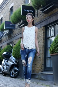 Pepe Jeans Pakistan - Break Your Jeans campaign starring Faryal Makhdoom - Look 5 (2)