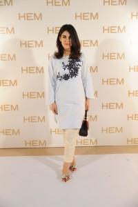 Aymen Hikmat wearing HEM
