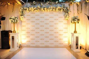Event Decor at the HEM Flagship Store Launch