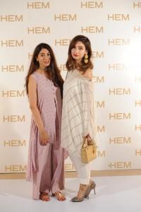 Farina Ghauri & Sehar Khosa wearing HEM