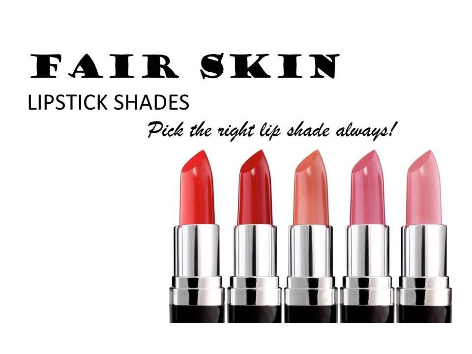 Natural Pink Lipstick For Fair Skin