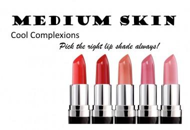 Lipstick Shades for Medium Skin