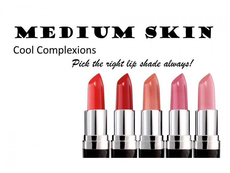Lipstick Shades for Medium Skin