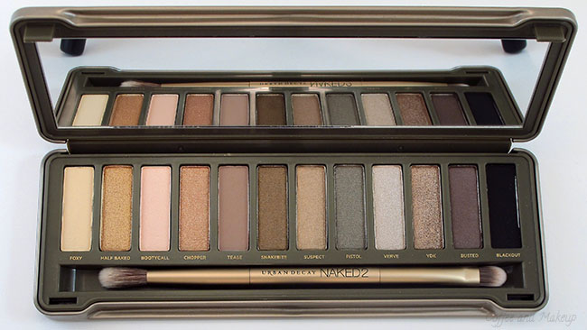 Urban Decay Naked 2 Eyeshadow Palette on Storenvy |Urban Decay Palette 2
