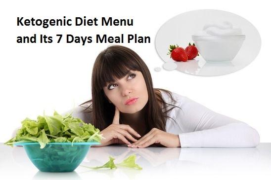 Ketogenic Diet Menu