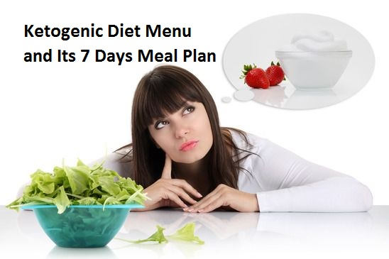 Ketogenic Diet Menu