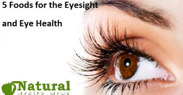 5 Foods for the Eyesight and Eye Health