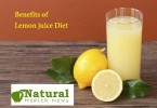 Benefits of Lemon juice Diet