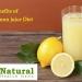 Benefits of Lemon juice Diet