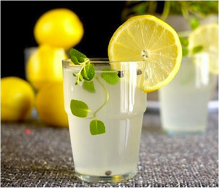 Drinking Lemon Water First Thing in the Morning